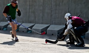 Canadian street Hockey