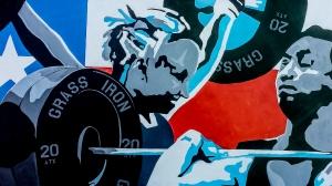 Gym Mural